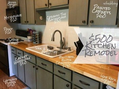 25 Best Cheap Remodeling Ideas On Pinterest Cheap Kitchen