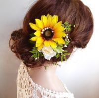 25+ Best Ideas about Flower Hair Accessories on Pinterest ...