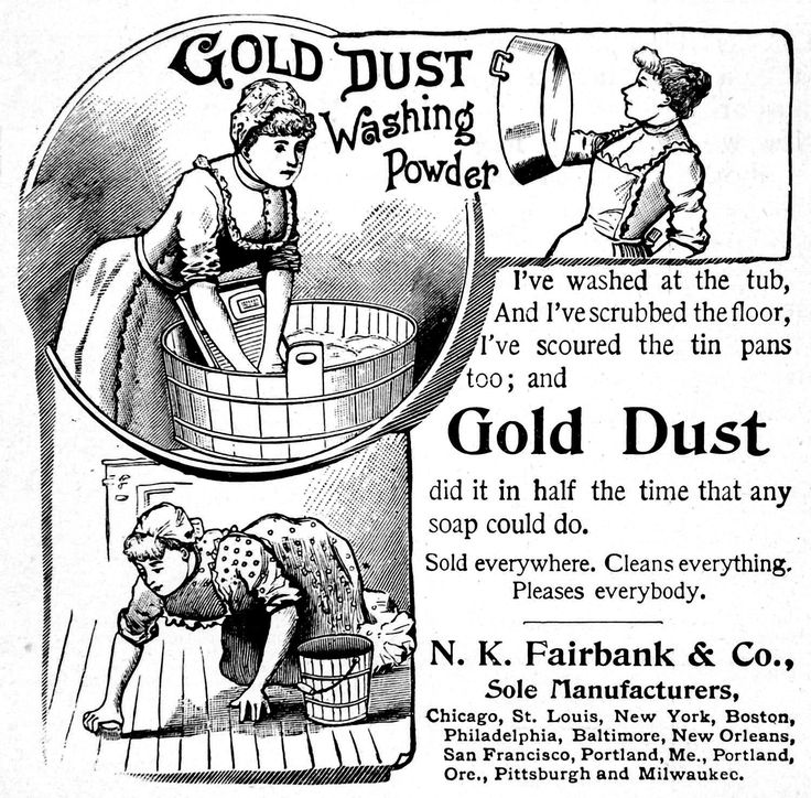 38 best Gold Dust Washing Powder images on Pinterest