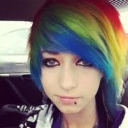 rainbow dash hair dye real
