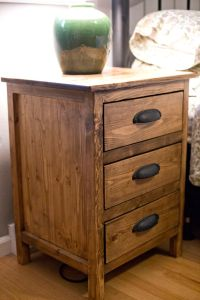 25+ Best Ideas about Pallet Night Stands on Pinterest ...