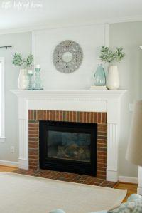 Best 20+ Simple Fireplace ideas on Pinterest | Wood mantle ...