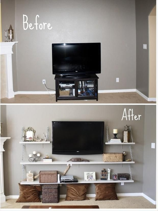 25 Best Ideas About Wall Mounted Tv On Pinterest Mounted Tv