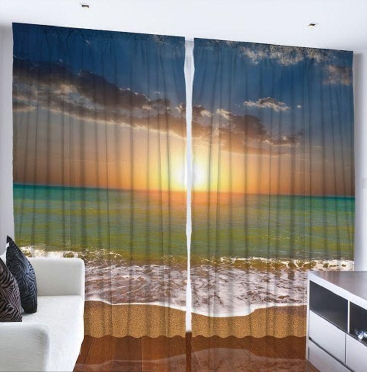 25 Best Ideas About Beach Curtains On Pinterest Beach Cottage