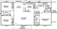 Jamestown IV by Wardcraft Homes Ranch Floorplan | Manse ...
