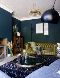25+ best ideas about Dark Green Walls on Pinterest