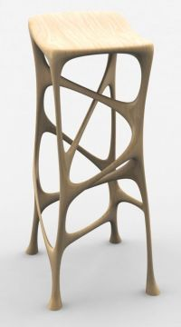 3D Printed Furniture. Organic Stool | Dsign 3D print ...