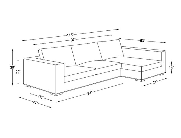 24 Best Images About Dimensions On Pinterest Sectional