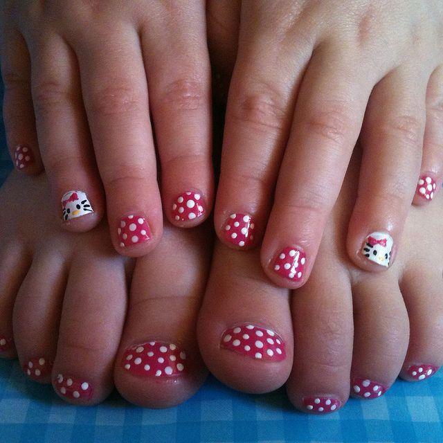 Little Girl Nail Design Ideas