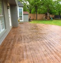25+ Best Ideas about Wood Stamped Concrete on Pinterest ...