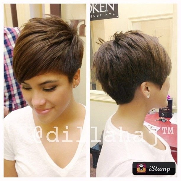 232 Best Images About Short Haircuts On Pinterest Short Hair