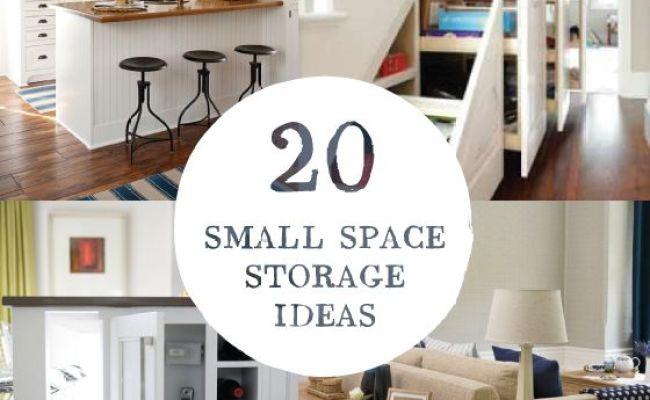 20 Small Space Storage Ideas Remodelingguy Net Diy