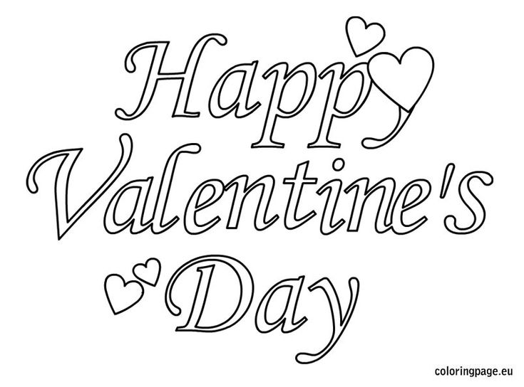 106 best images about Valentine Coloring Pages on