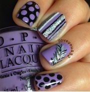 1000 ideas purple nail design