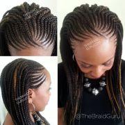 corn rolls hair ideas