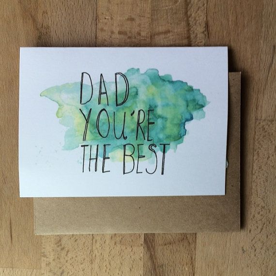 Funny Fathers Day card Happy Birthday Dad card Dad youre – Happy Birthday Card Dad