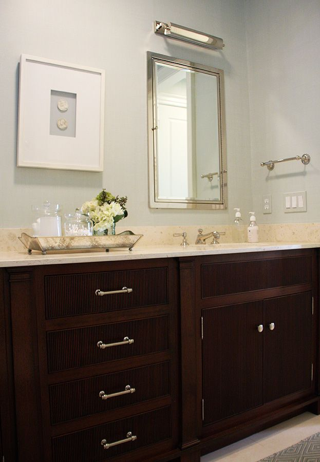 17 Best images about Dark bathroom cabinets on Pinterest