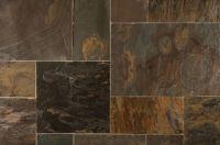 Roterra Slate Tiles - Versailles Pattern California Gold ...