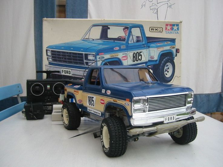 Vintage Ford F150 Off Road 4x4 Nikko 1 10 Scale Radio Control Truck
