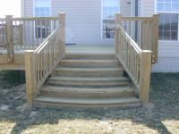 deck steps images | This customer wanted something a ...