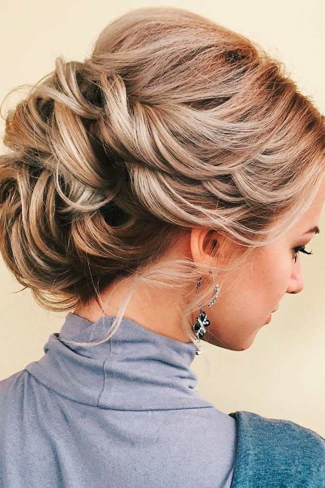 Best 25+ Medium Length Updo ideas on Pinterest