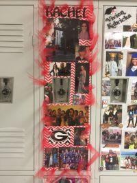 Locker strip for Senior week.   Senior Pictures ...