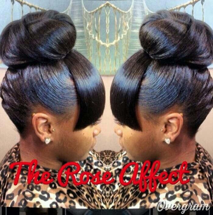 89 Best Images About Flawless Hair BUNS & UPDO'S On Pinterest