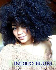 midnight blue hair ideas