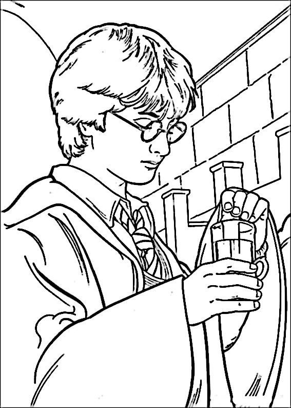 Harry Potter Dementor Coloring Pages Coloring Pages