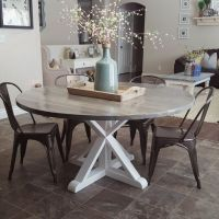 25+ Best Ideas about Round Farmhouse Table on Pinterest ...