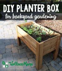 25+ best ideas about Planter Boxes on Pinterest | Building ...