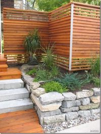 17 Best ideas about Privacy Fences on Pinterest