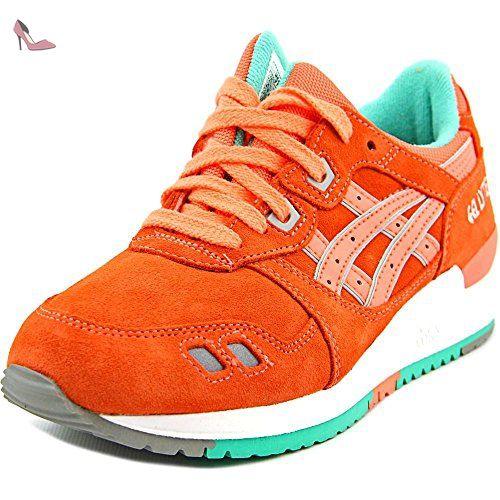 asics gel lyte iii jeunesse us orange baskets chaussures asics partner