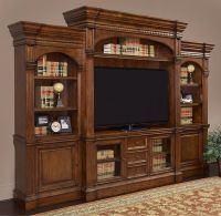 A wall media entertainment center like this deserves a ...