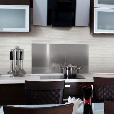 The Home Depotpeel and stick backsplash  kitchen