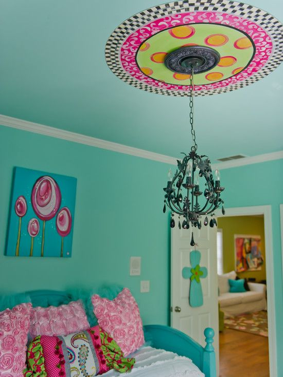 17 Best ideas about Turquoise Girls Rooms on Pinterest