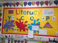 Literacy working wall Yr 1/2   Classroom Ideas   Pinterest ...