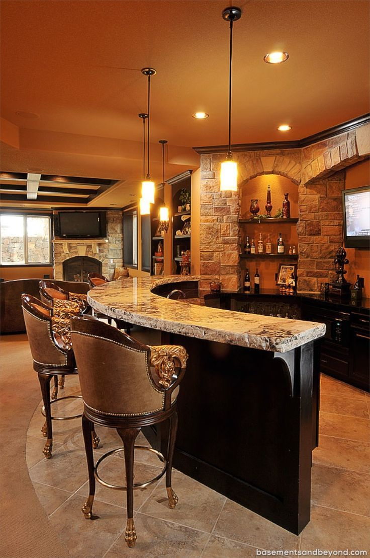 25 Best Ideas About Bar Designs On Pinterest Basement Bar
