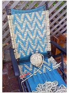 lawn chair repair knoll conference room chairs 139 best images about knitting & macrame on pinterest | macrame, free pattern and for ...