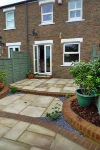 Gardens, Exciting Small Yard Design Low Maintenance Garden ...