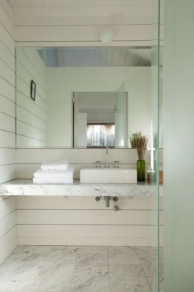 contemporary beach house bathroom 17 Best ideas about Floating Bathroom Vanities on