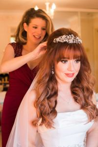 Curly Wedding Hairstyles With Fringe | Fade Haircut