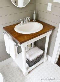 Build Your Own Bathroom Vanity Cabinet - WoodWorking ...