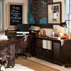 Pottery Barn Swivel Desk Chair Foldable High Whitney Corner Set | #cupcakedownsouth Make My Office Sweet Pinterest ...