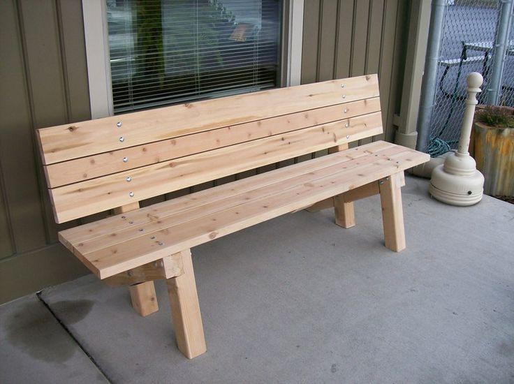 Wooden Garden Furniture Plans