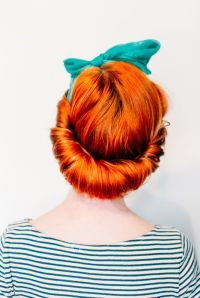 17 Best ideas about Scarf Hairstyles on Pinterest
