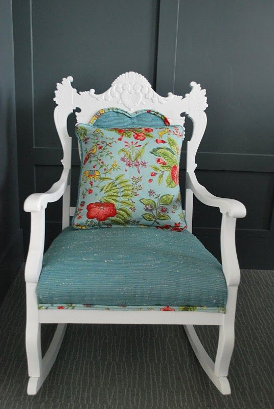 1000 ideas about Rocking Chair Redo on Pinterest  Front