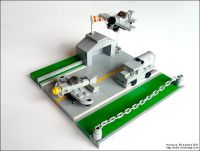 WWII micro airport | Military LEGO Designs | Pinterest ...