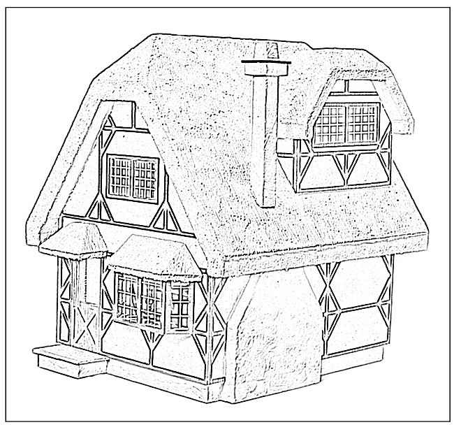 Doll houses, Coloring books and Dollhouses on Pinterest