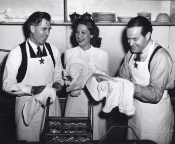 Image result for dinah shore at the hollywood canteen